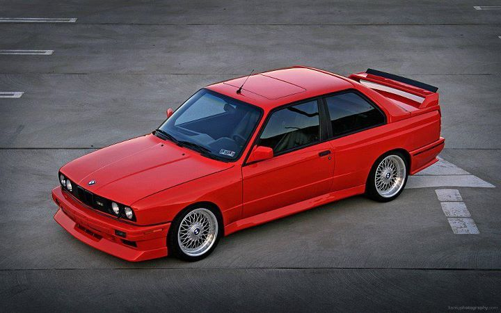 A rare mint #bmw E30 M3 pitty they were all left hand drive!