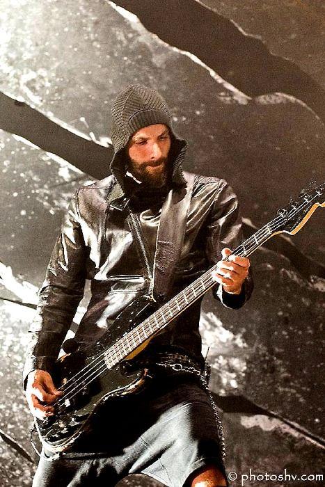 Oliver Riedel Rammstein bass