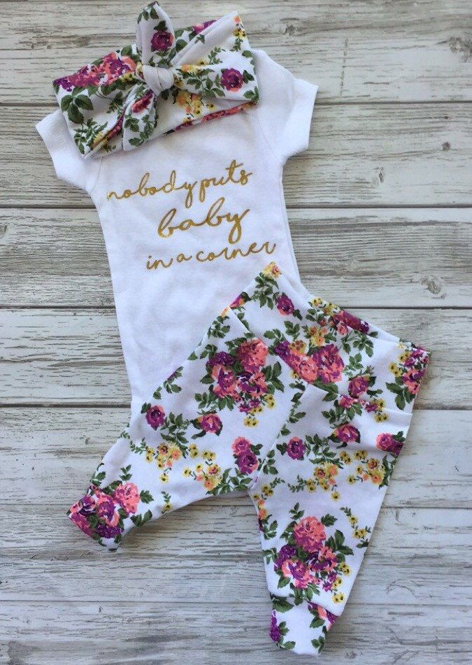 A personal favorite from my Etsy shop https://www.etsy.com/ca/listing/384967300/newborn-baby-coming-home-outfit-baby