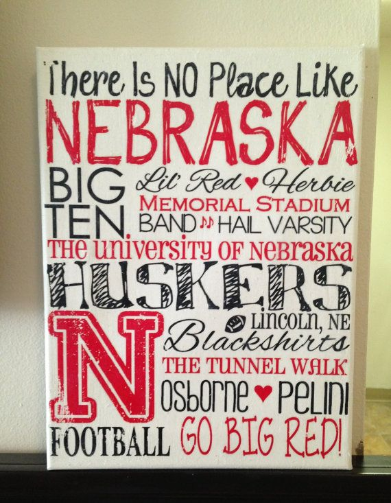 Hey, I found this really awesome Etsy listing at http://www.etsy.com/listing/162850852/11-x-14-subway-art-unl-nebraska