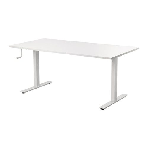 "IKEA - SKARSTA, Desk sit/stand, , You can easily adjust the height of the desk between 27 1/2"" and 47 1/4"""