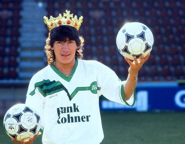 Ivan Zamorano reigns in St. Gallen