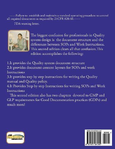 How to write standard operating procedures and work Instructions.2ND EDITION: A handbook for Quality