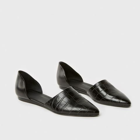 clearance great deals Jenni Kayne Embossed Leather Flats buy cheap discounts manchester great sale for sale 2015 sale online kK4RpPBjk