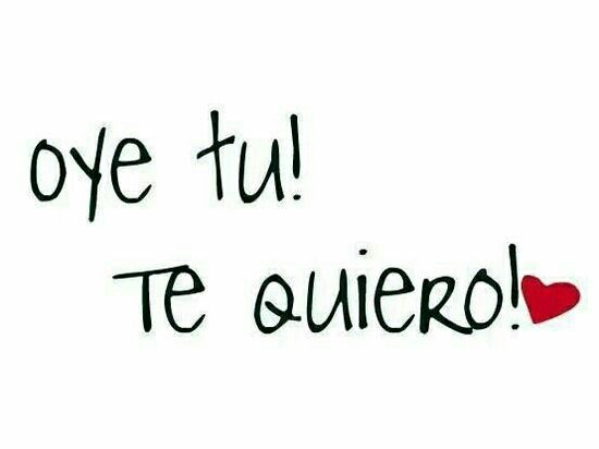 HEY YOU! te quiero ♡