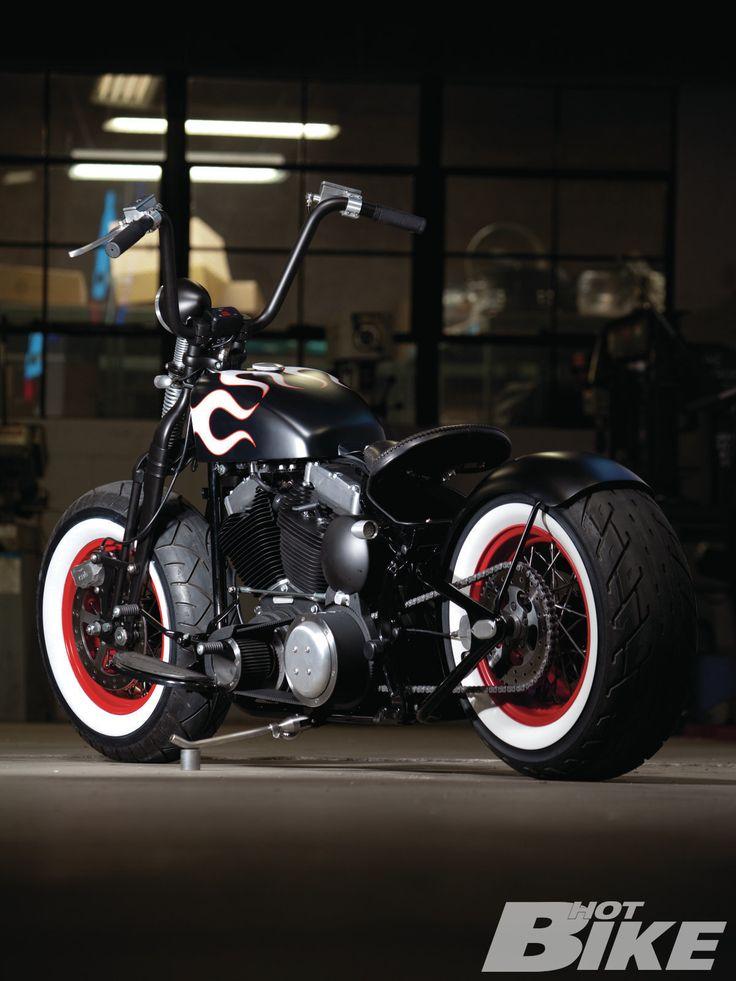 2009 Harley Davidson Cross Bones With Exile Hotrod Makeover