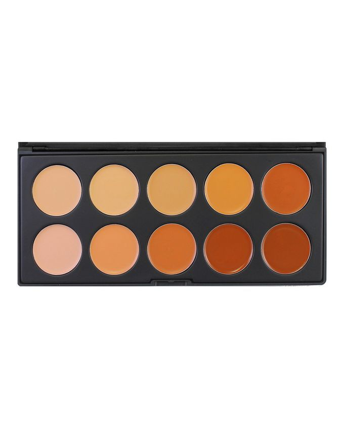 10 Colour Concealer Palette (10CON) by Morphe Brushes   also can double as a contour kit