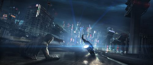 Awesome Concept Art from Cancelled Live-Action AKIRA Film