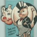Vintage Spot Striker Matchbook Cover – Eat A Pig Restaurant    Be sure to check out all of our Vintage Spot Striker Matchbook Covers at http://matchcoverguy.com/category/spot-strikers/