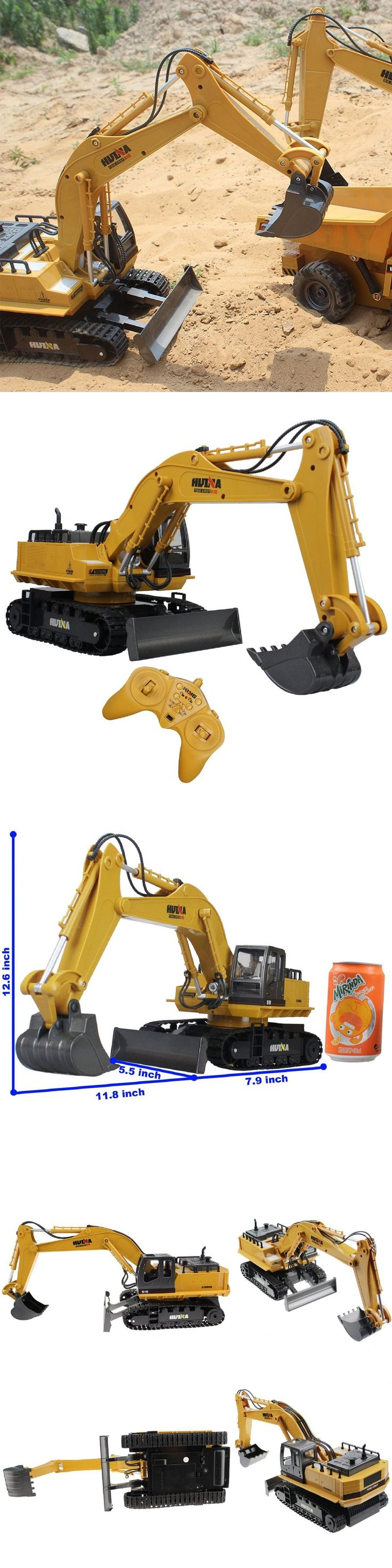 Cars Trucks and Motorcycles 182183: Remote Control Excavator Rc Tractor Bulldozer Crawler Truck Toy Metal Digger Car -> BUY IT NOW ONLY: $78.88 on eBay!