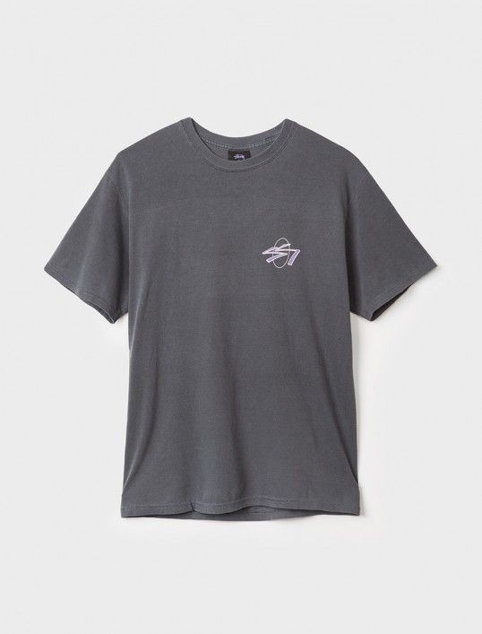 SS Oval Pigment Dyed Tee
