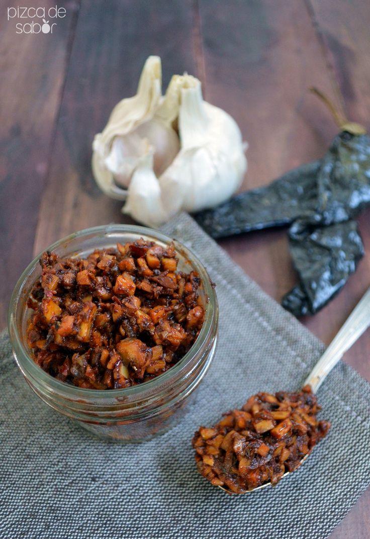 Chorizo de champiñones (vegano y sin soya) www.pizcadesabor.com