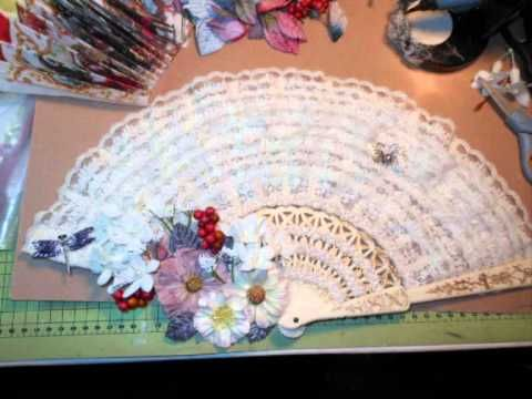 Gorgeous Lace Fan - 31st Oct 2011