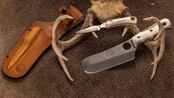 The Brown Bear Combination Hunting Knives