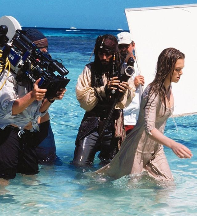 Behind the scenes  Pirates and the Caribbean