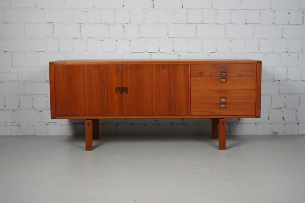 Swedish teak sideboard by lennart bender for ulferts möbler s