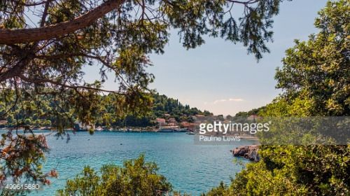 The small picturesque, harbour of Sudurad on Sipan... #sudurad: The small picturesque, harbour of Sudurad on Sipan Island,…… #sudurad