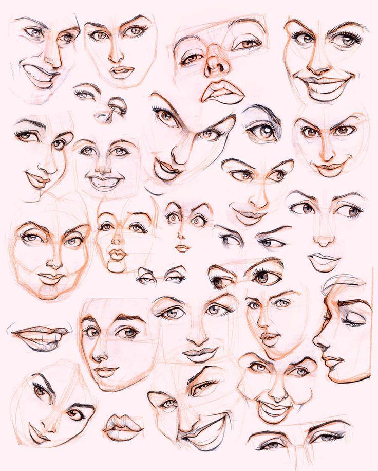Women's faces by JoniGodoy