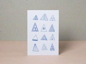 Postcard »Wald« by værsgo