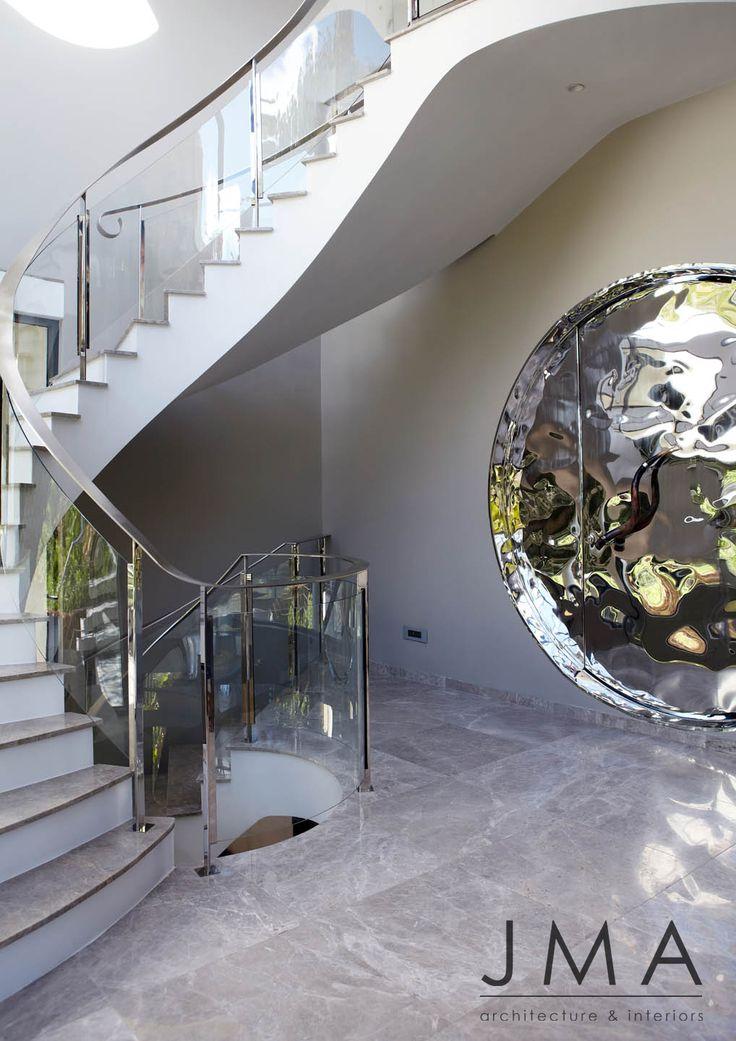 Organic staircase.