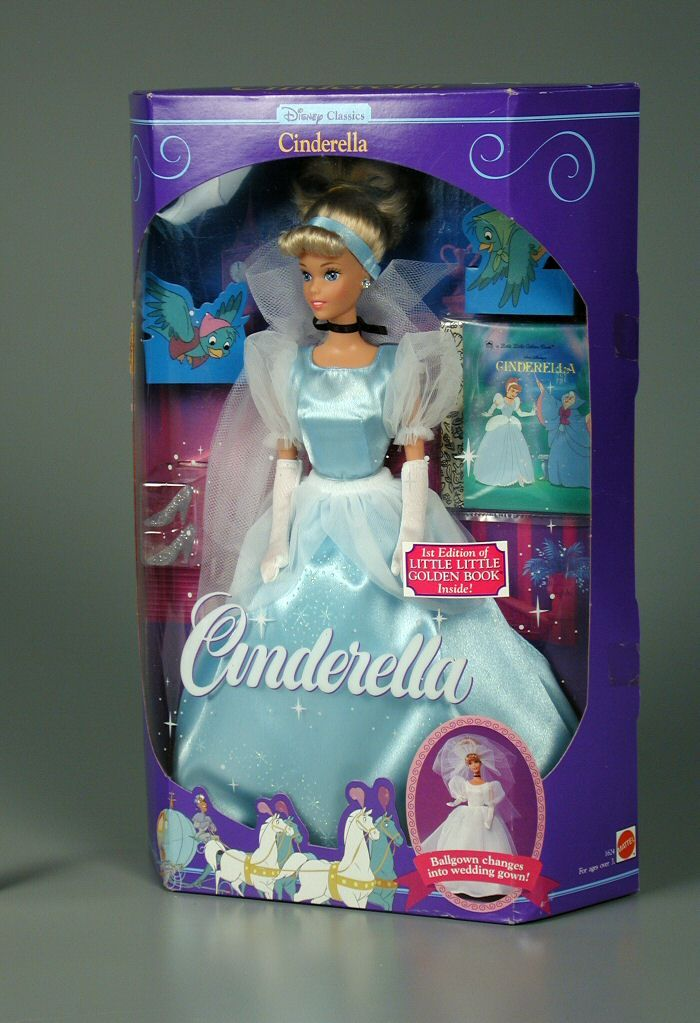 1991 Mattel, Disney Classics: Cinderella Barbie Doll