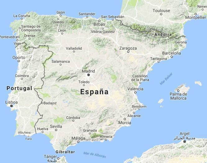 Mapa de Empleo Público | Oposiciones