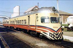 Ferrocarriles Argentinos - Coche motor en Cañuelas