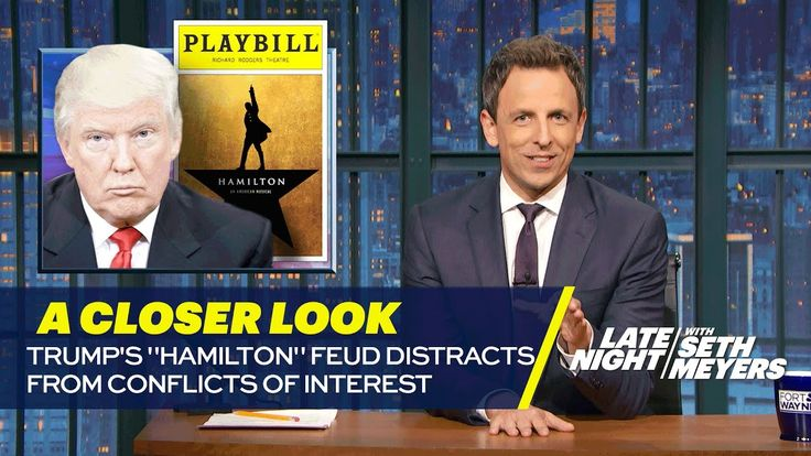 "Trump's ""Hamilton"" Feud Distracts from Conflicts of Interest: A Closer Look"