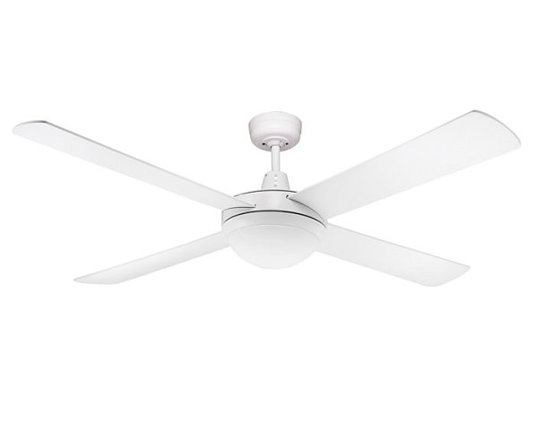 $119.90 Genesis 52 inch (1300mm) White Ceiling fan with Light