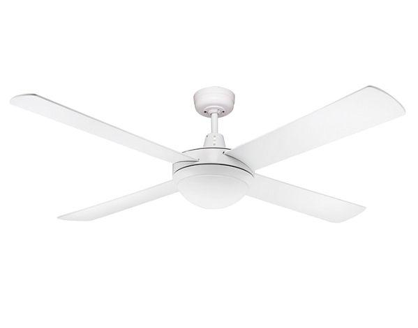 $119.90 Genesis 52 inch (1300mm) White Ceiling fan with Light