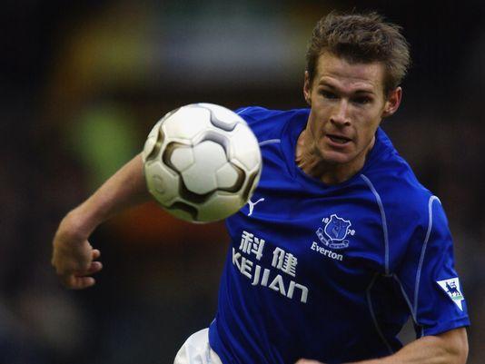 Brian McBride (Everton FC, 2003 on loan, 8 apps, 4 goals)