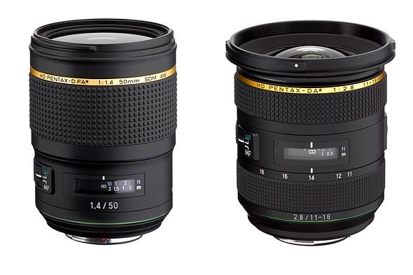 Ricoh announces new lenses for both APS-C and full-frame Pentax cameras