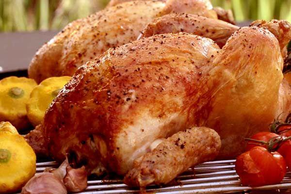 Roast Chicken - Weber