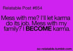 Bad Karma Quotes Funny | karma funny quotes image search results