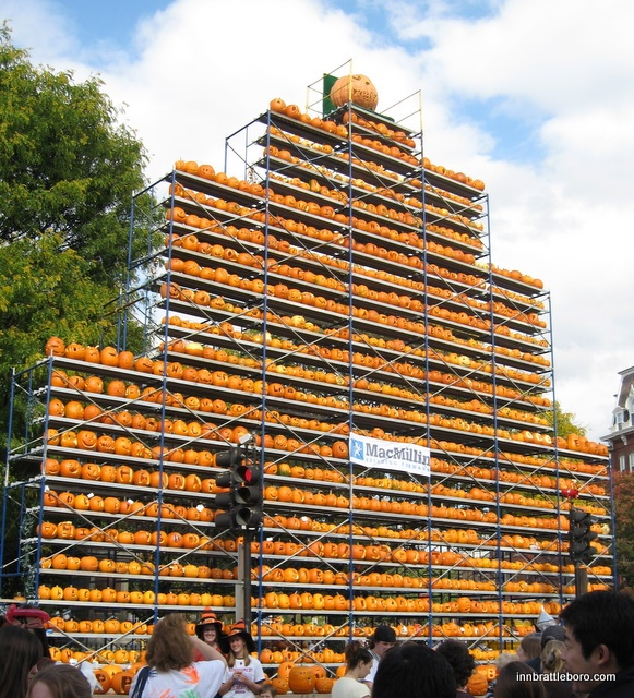 Keene Pumpkin Festival, set the Guinness Book of Records for the most lit jack-o'-lanterns in one place at one time