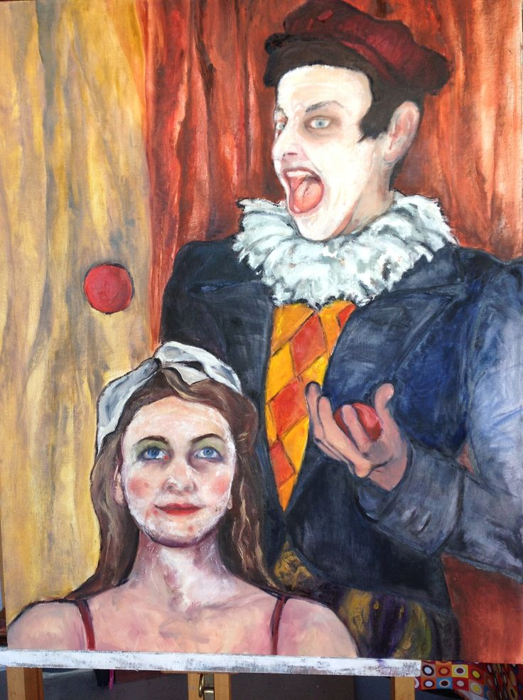 """Pauline Hugo - """"The Circus Act """" Just like Picasso"""