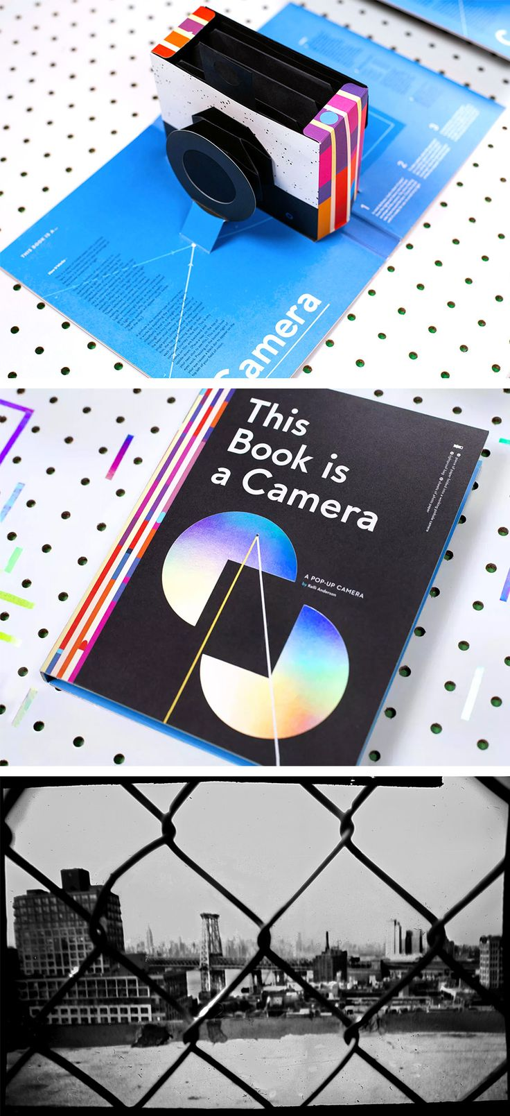 This Book Is a Camera: A Functioning Pinhole Camera Inside a Pop-Up Book