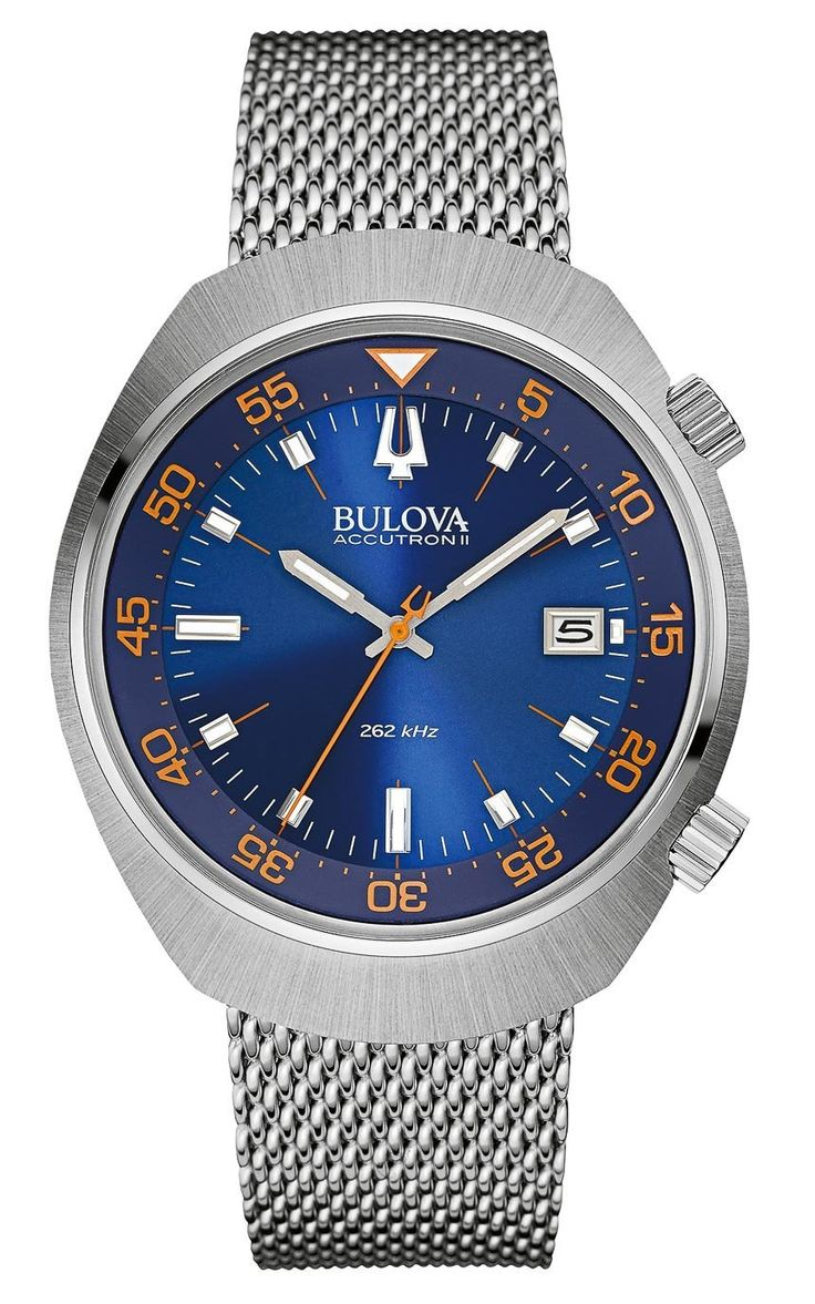 """New Bulova Accutron II UHF Sport Watches For Baselworld 2015 - by Ariel Adams - read more and see the other new models on aBlogtoWatch.com """"Simple, satisfying, good value proposition, and timeless... these are some of the things Bulova is doing a good job at becoming known for over the last few years, especially when it comes to their quickly developing Accutron II collection with their UHF movements. """"UHF"""" stands for Ultra High Frequency and refers to their extra-high frequency quartz…"""