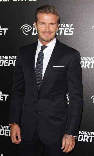 David Beckham at Time Warner's SportsNet launch