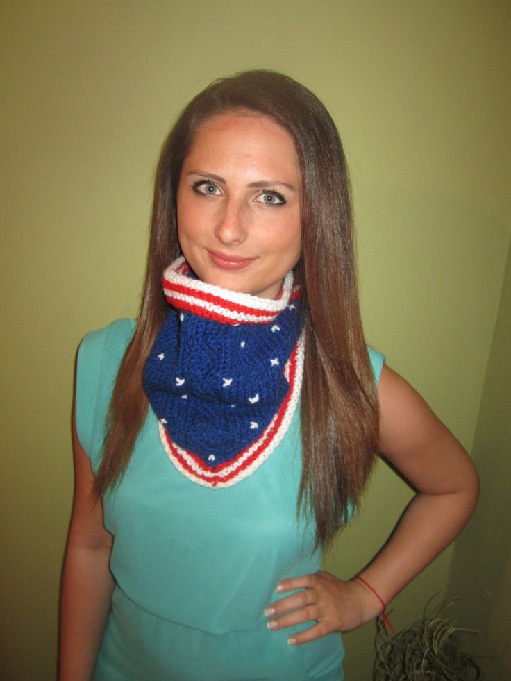 Excited to share the latest addition to my #etsy shop: Patriotic cowl, 4th of july, Red White Blue Scarf, American Flag cowl, Knitted Scarf #clothing #women #independenceday #redwhitebluescarf #whiteknitcowl #patrioticcowl #redknitscarf #4thofjuly #americanflagcolors