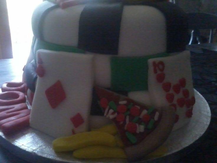Vegas Theme/Chipper/pizzeria Cake