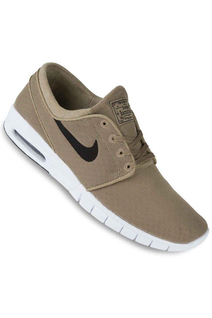 size 40 48032 6893a ... Nike SB Stefan Janoski Max Shoe (khaki black) ...
