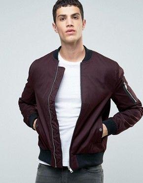 Men's Bomber Jackets | Flight jackets, varsity jackets & aviator jacket styles | ASOS