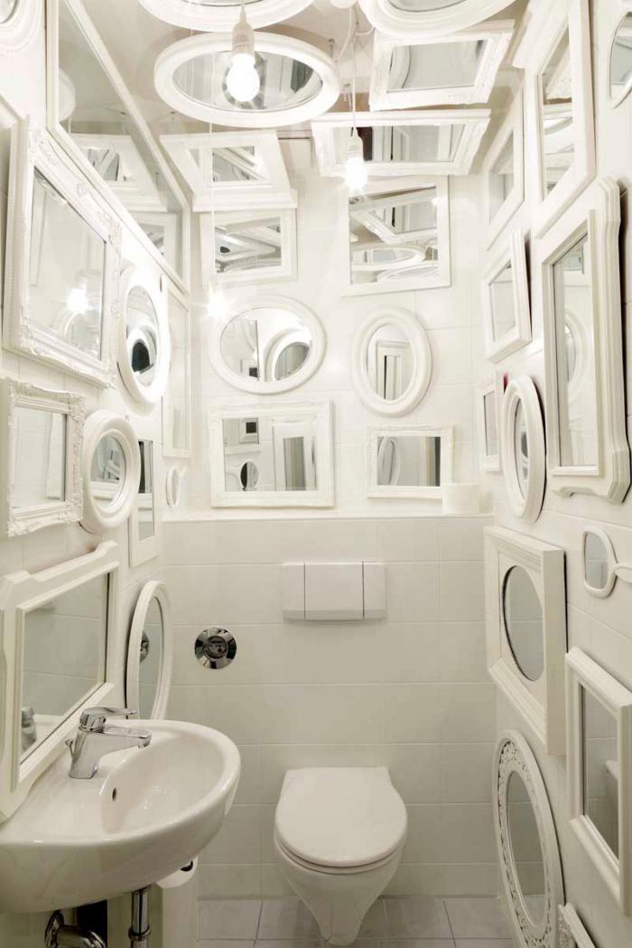 Tulip Design Mirrored Bathroom Remodelista