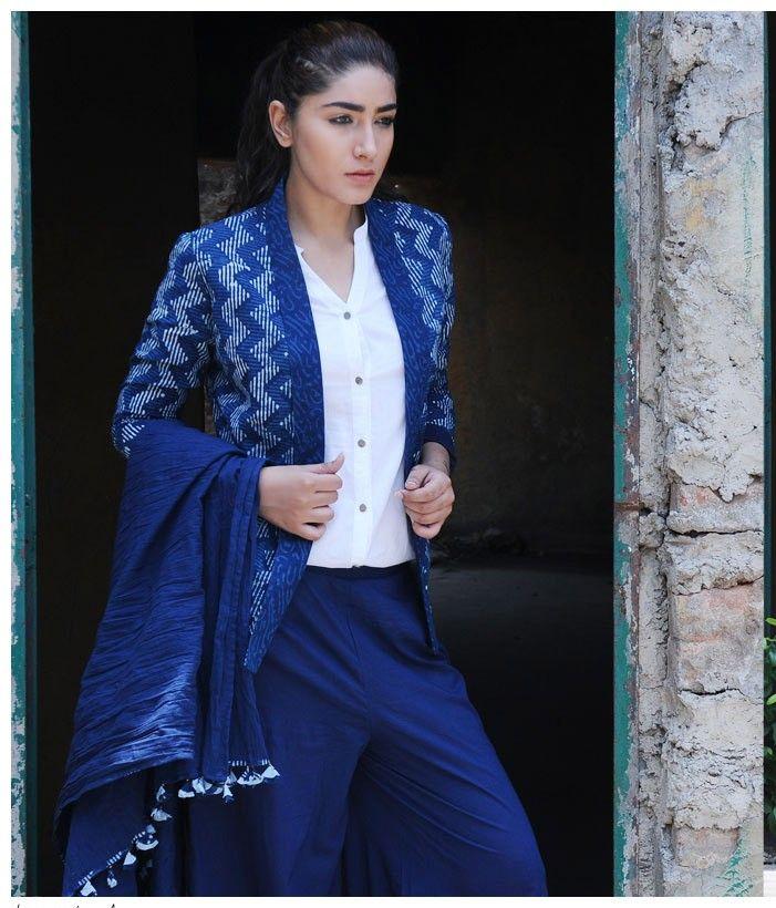 One Jacket, Four Looks: http://blog.jaypore.com/2015/07/07/indigo-musings/ (4/4)