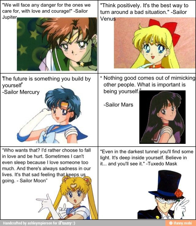 Sailor moon quotes