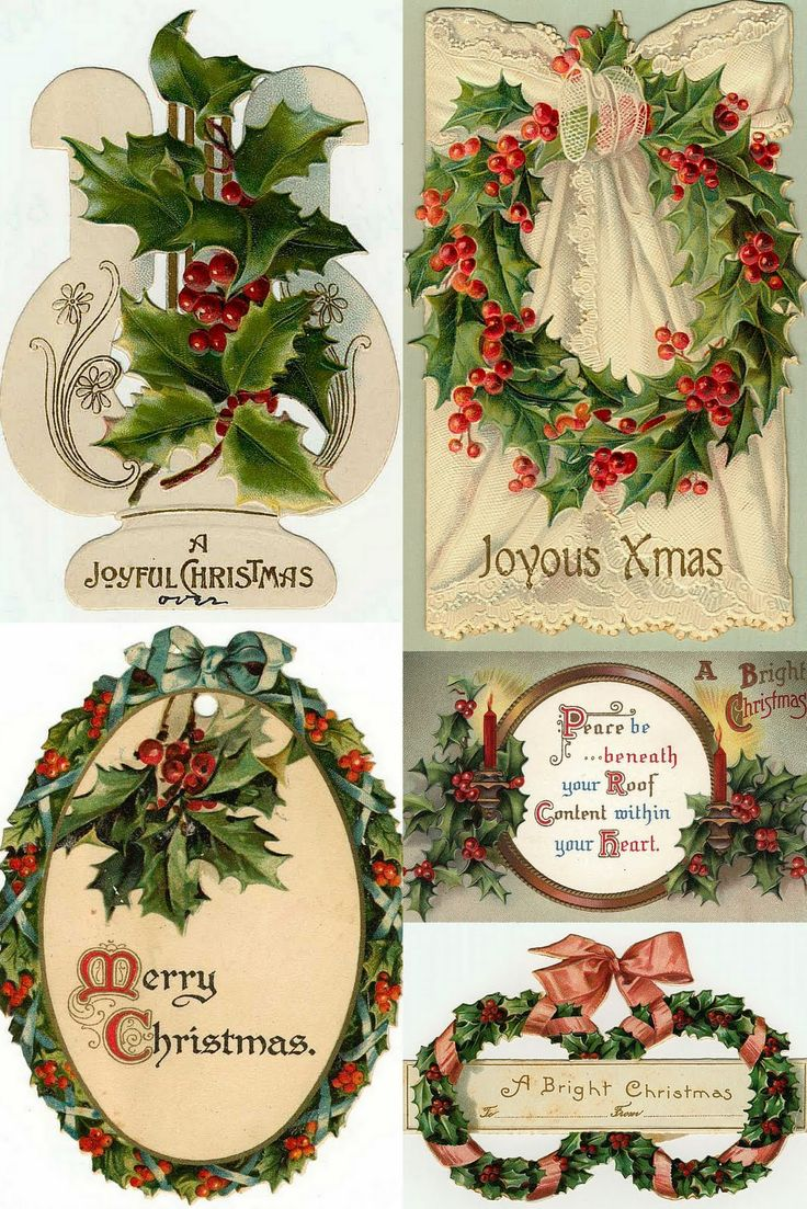 Free Christmas printables. Many other vintage images on the link...
