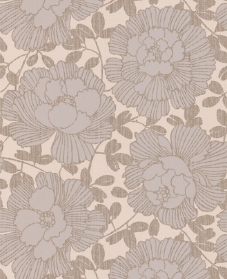 Really like this wallpaper. Bold pattern but neutral shade