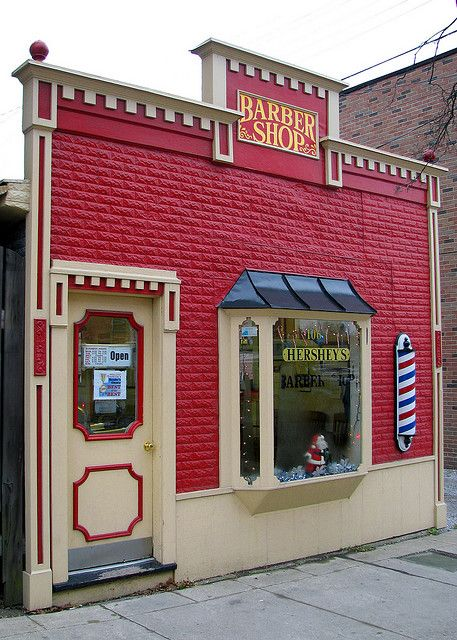 Hershey's barber shop..........................