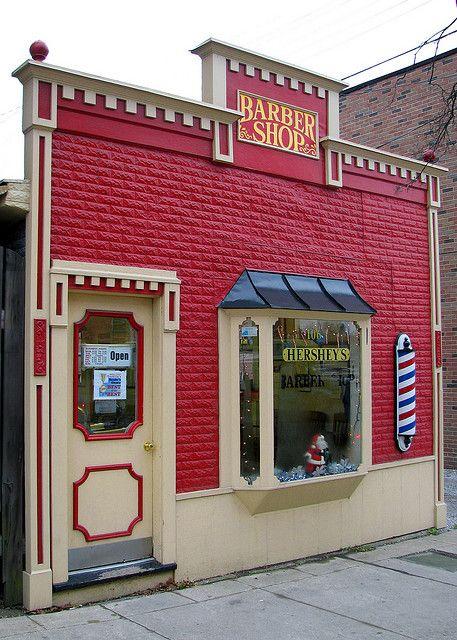 Hershey's barber shop..........................